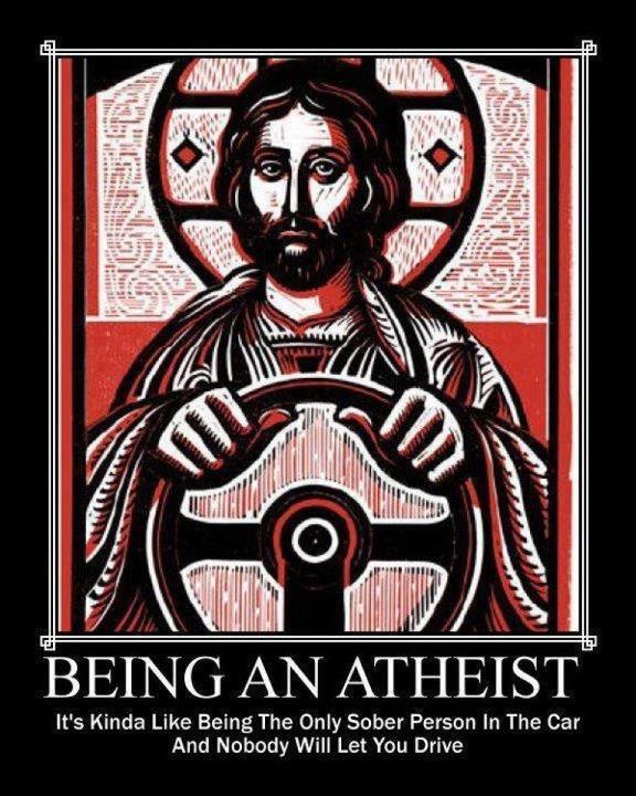 Atheist cartoon