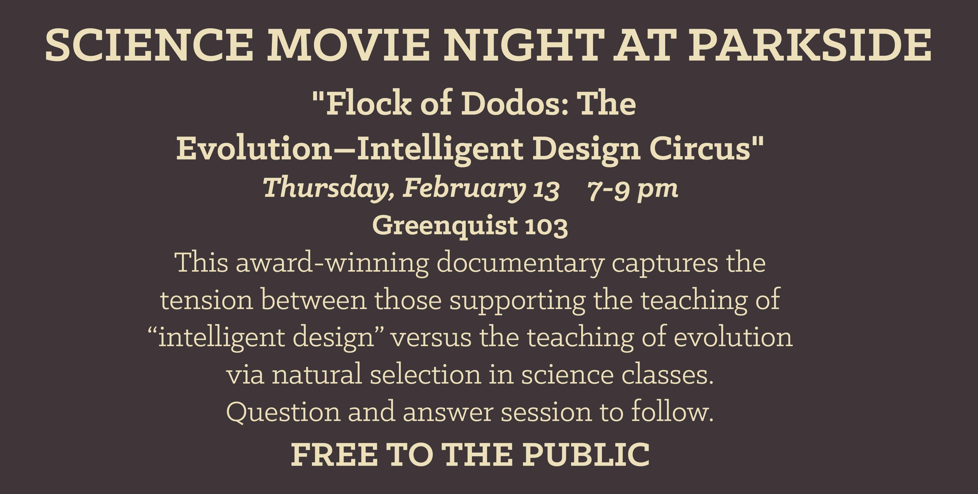 Darwin Day 2014 UWP film