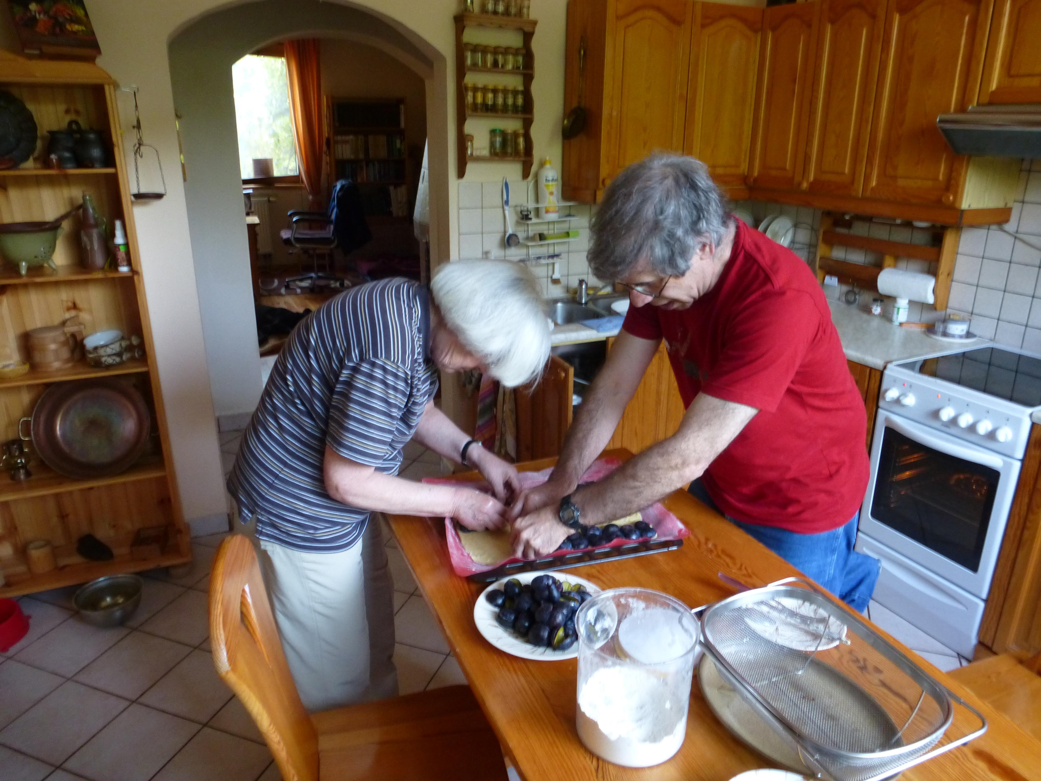 Adding plums J&M
