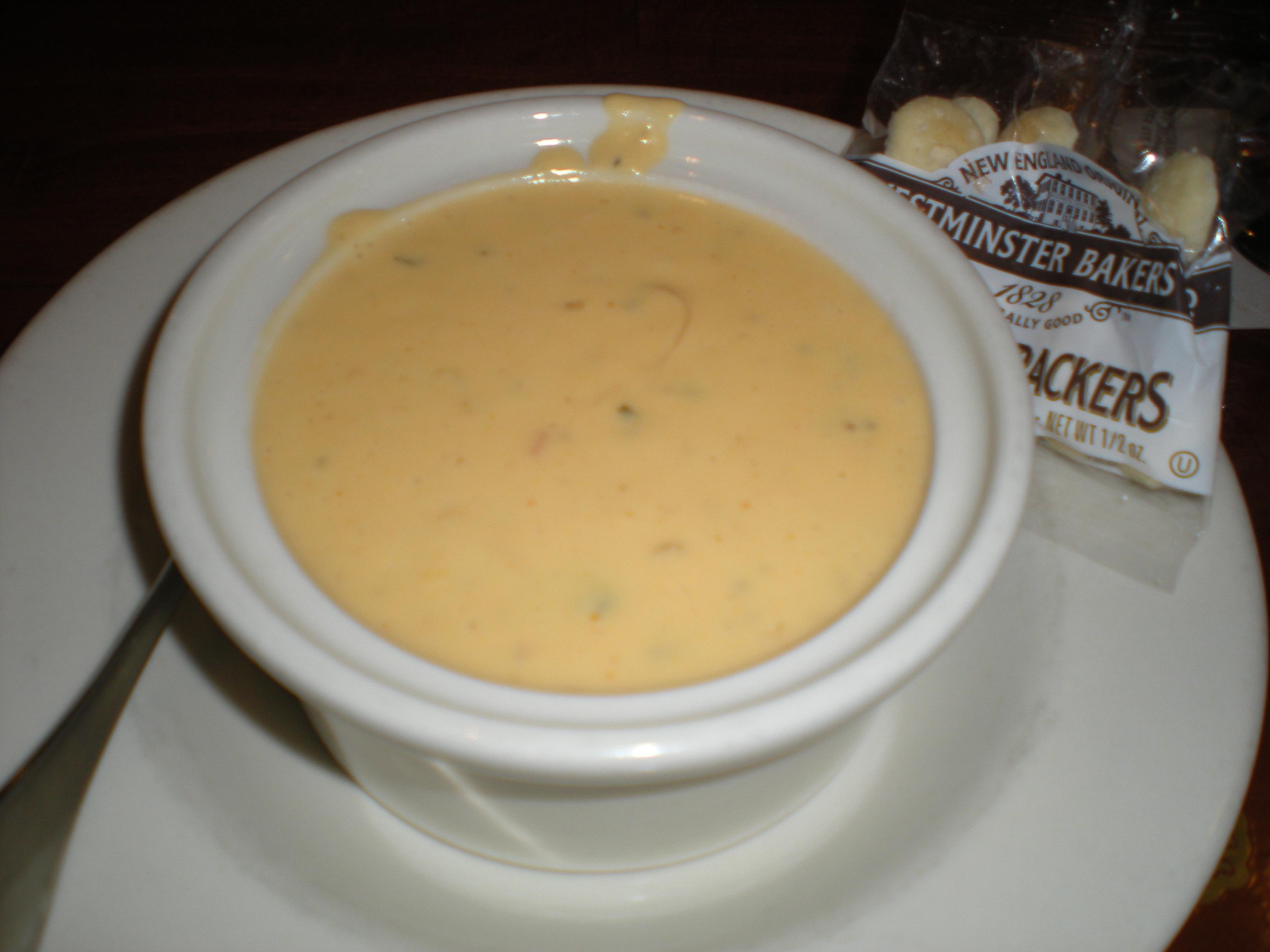 German beer cheese soup.
