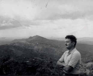 Richard Levins in Maricao, Puerto Rico, in the early 1950s (from radicalismojudio.org).