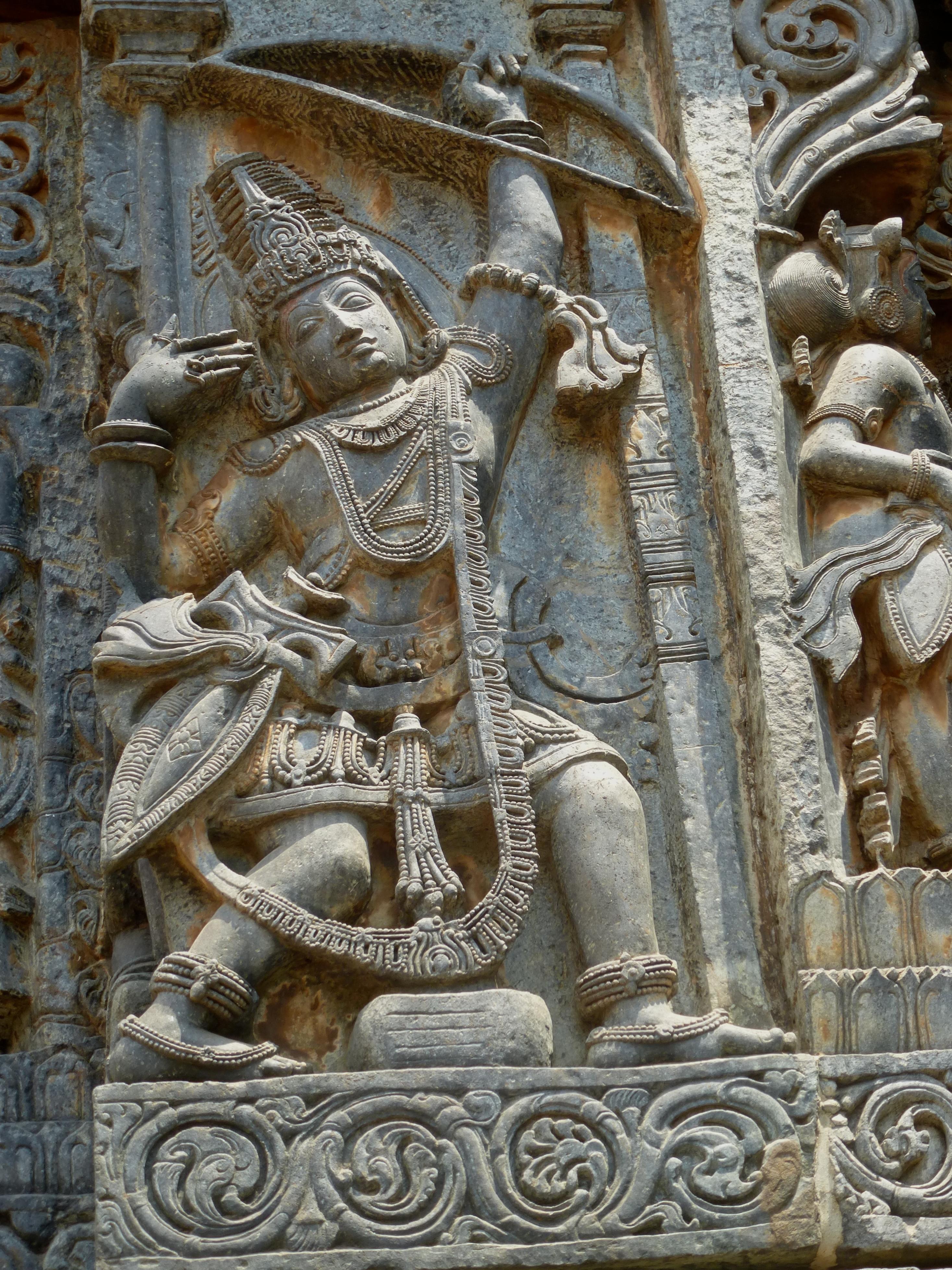 Arjuna the archer