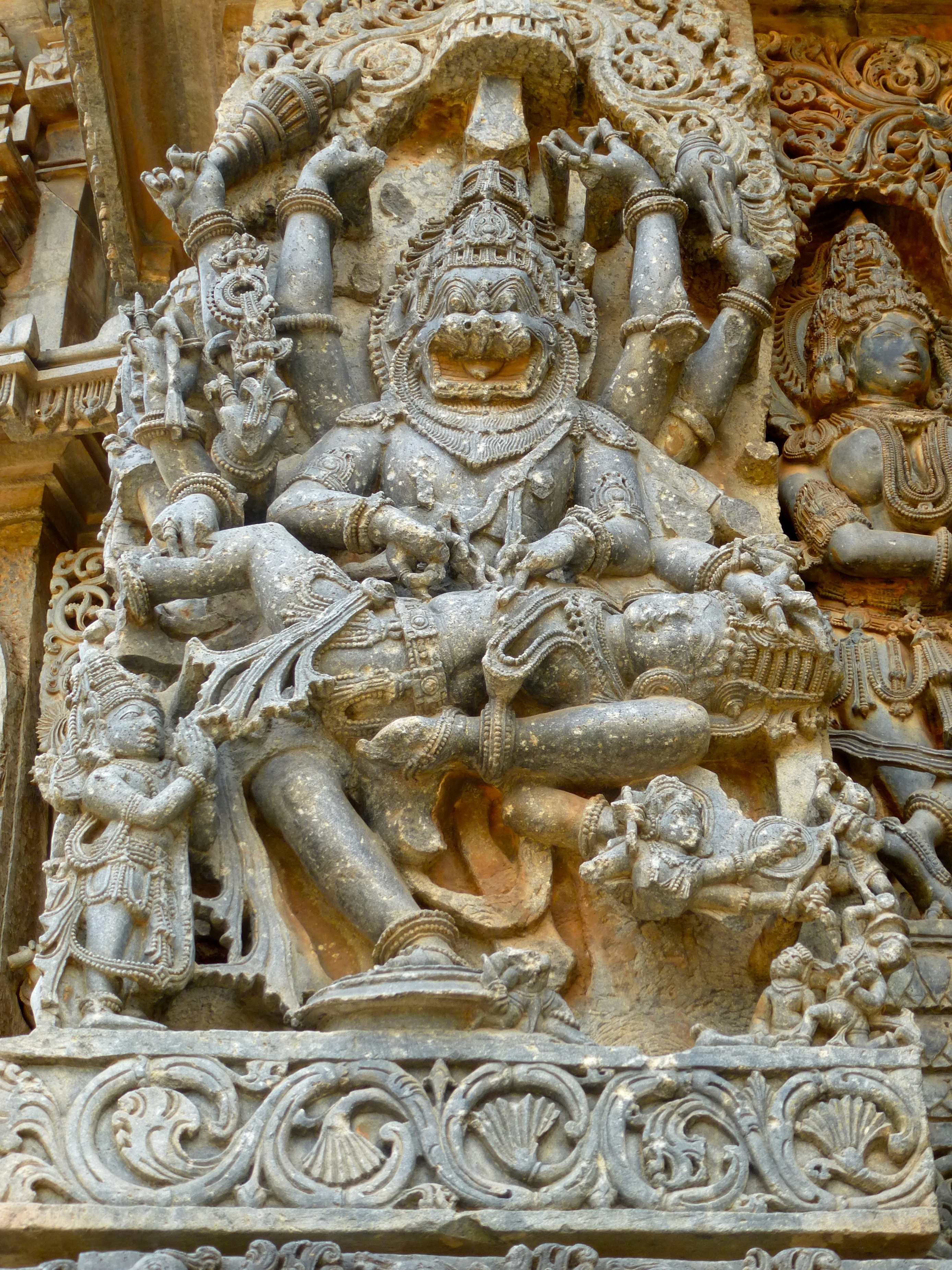 Narasimha (lion man): an avatar of Vishnu
