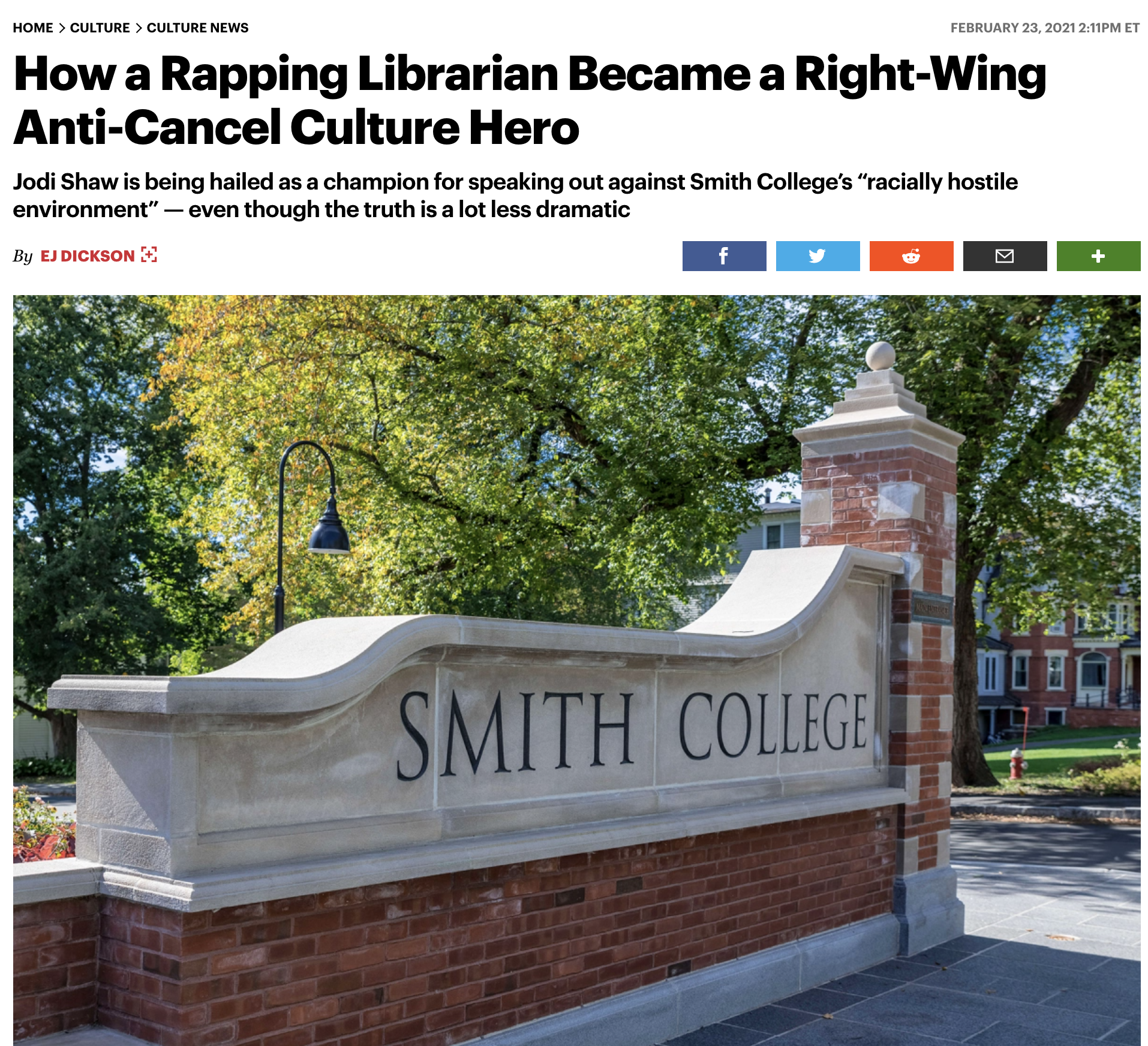 Smith meltdown: NYT reports honestly, for once (but Rolling Stone doesn't)