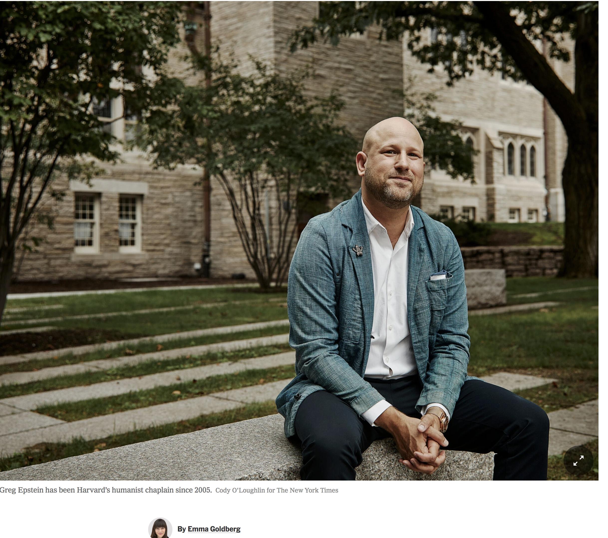 Harvard's head chaplain is now an atheist